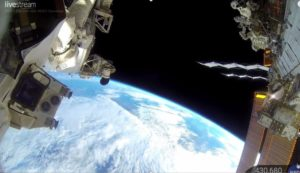 Earth from the ISS HDEV cameras aboard the International Space Station. Watch the earth roll by courtesy of the ISS cameras (2016). Captured by ISS HDEV cameras on board the International Space Station