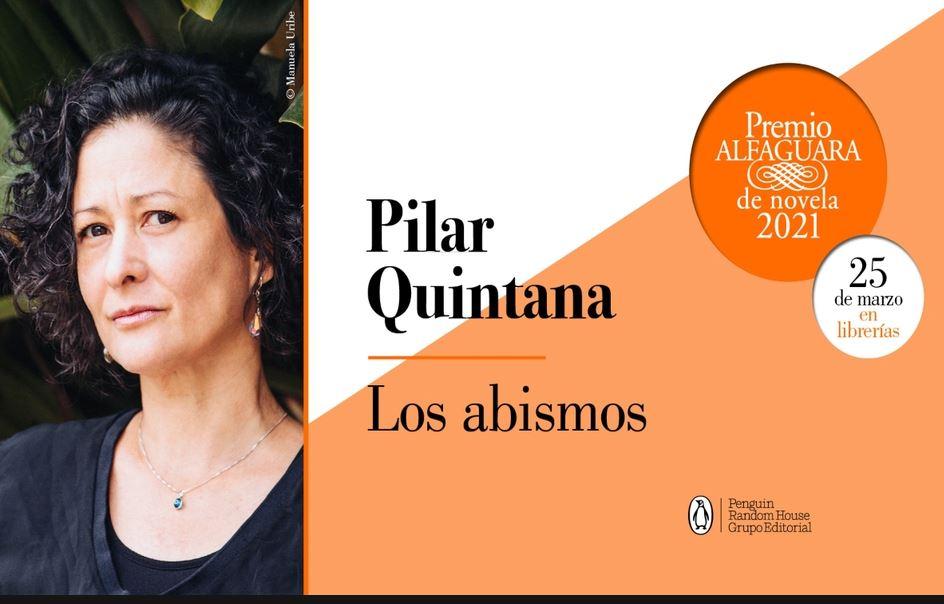 """Premio Alfaguara para la escritora caleña Pilar Quintana por la novela """"Los Abismos""""."""