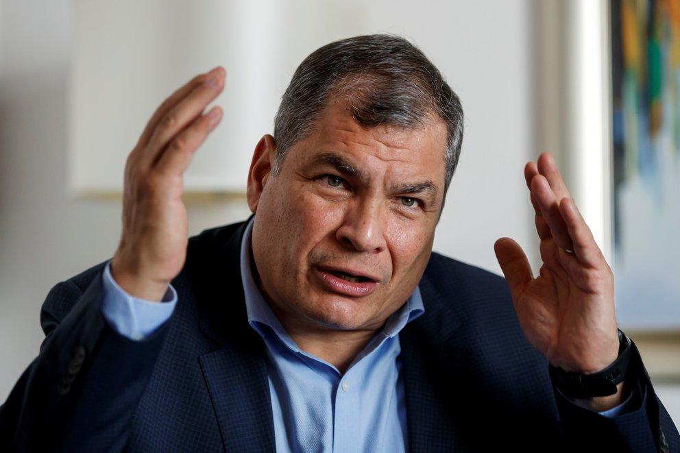 Ecuador no quiere a Correa