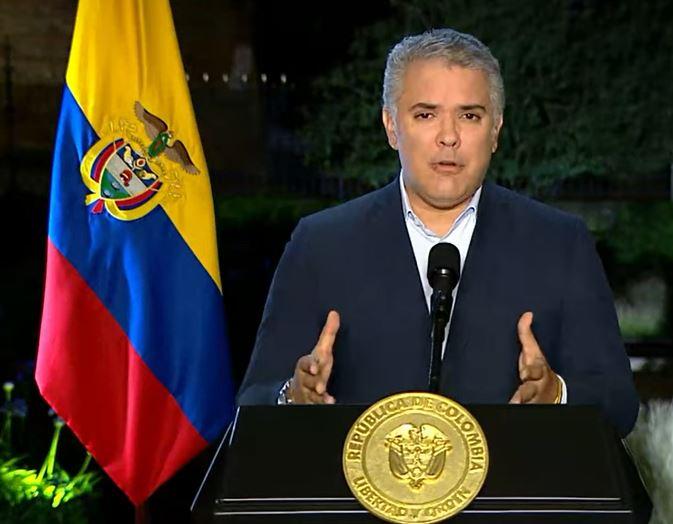 El presidente Iván Duque anunció que se tomarán medidas para recuperar la movilidad en las zonas donde hay bloqueos de vías