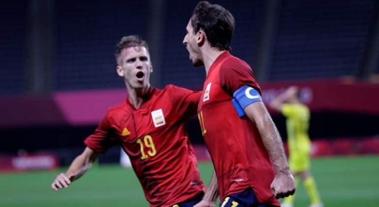 España a la final Olímpica del fútbol masculino